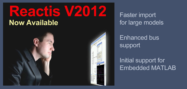 Reactis V2012 Now Available
