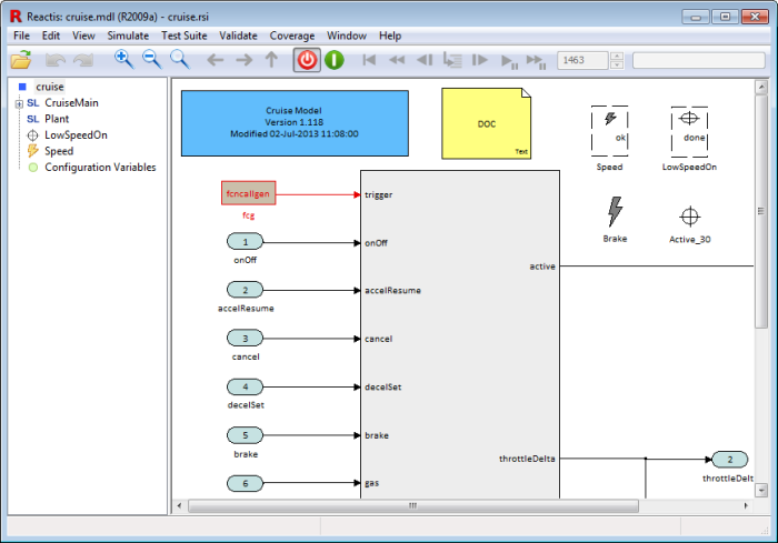 Figure: Simulink block coloring